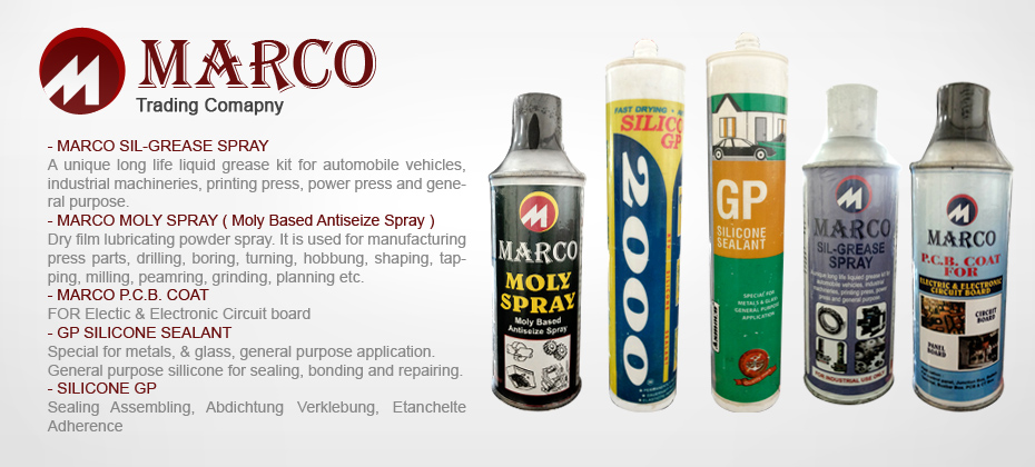 Marco Manufacturer Distributor Supplier Trading